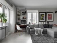 Дизайн квартиры в хрущевке — модные тенденции в оформлении интерьера (115 фото)