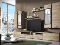 Функциональные и красивые модульные стенки: варианты комплектации в интерьере (110 фото)