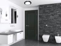 Двери для ванной — какие выбрать, обзор, описание, 70 фото в интерьере