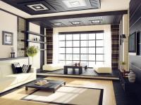 Японский стиль в интерьере — 75 фото безупречно оформленного интерьера