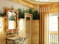 Деревянный стиль в интерьере — 75 красивых фото в интерьере