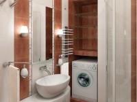 Интерьер ванной комнаты совмещенной с туалетом — 115 фото идей современного дизайна