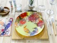 Декупаж тарелок — интересный мастер класс с пошаговой инструкцией и фото примерами