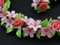 Цветы из полимерной глины — мастер класс как сделать своими руками (фото идеи)