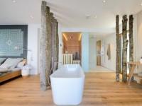 Интерьер ванной комнаты — 110 фото красивого дизайна в ванной комнате