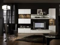 Функциональные и красивые модульные стенки: варианты комплектации в интерьере (100 фото)