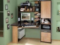 Компьютерный стол — 80 лучших фото идей в интерьере