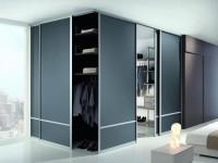 Двери для гардеробной — фото интересных идей в интерьере