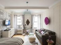 Дизайн однокомнатной квартиры 35 кв. м. — 110 фото безупречного интерьера