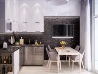 Оформление кухни — фото примеры самых необычных и красивых идей в интерьере кухни