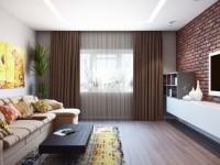 Квадратная гостиная — 80 фото необычных дизайнерских решений