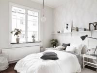 Спальня в скандинавском стиле: 100 фото необычных вариантов дизайна спальни