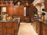Кухни из дерева —  70 фото дизайна кухонных новинок 2017 года