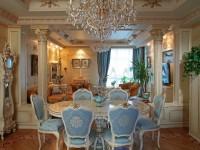 Гостиная в стиле барокко — 75 фото необычного дизайна