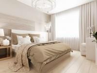 Бежевая спальня — современный дизайн, узоры и сочетания тонов (110  реальных  фото)