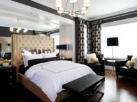 Новинки дизайна спальни — фото красивого интерьера в спальне