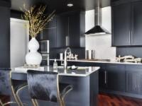 Черная кухня: фото лучших идей дизайна, и вариантов сочетания цвета