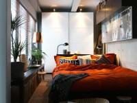 Узкая спальня — 57 фото идей как оформить дизайн в узкой спальне