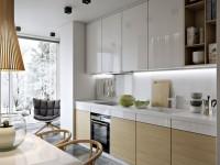 Дизайн кухни 9 кв. м. — 70 фото новинок 2017 года
