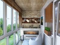 Дизайн балконов снаружи и внутри: ТОП-100 фото оригинальных идей