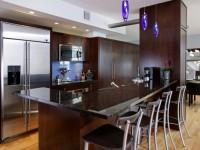 Темная кухня — 75 фото необычного оформления интерьера темной кухни