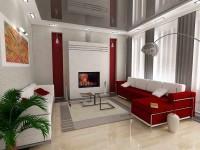 Прямоугольная гостиная — 110 фото идей в интерьере
