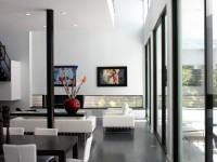 Черно белая гостиная — 55 фото необычных решений дизайна гостиной
