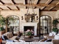 Тонкости оформления гостиной в стиле «кантри» — 100 лучших фото идей красивого дизайна