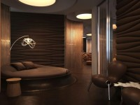Коричневая спальня — 85 фото лучших идей дизайна