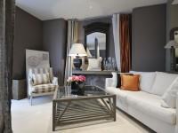 Серый интерьер гостиной — фото примеры как оформить гостиную в серых оттенках