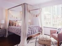 Сиреневая спальня — фото новых дизайнерских решений для интерьера