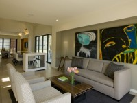 Гостиная в стиле модерн — фото идеи стильно оформленного дизайна
