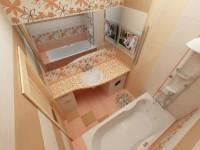Маленькая ванная комната 3 м²: 80 фото, идеи планировки и дизайна