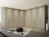 Угловая гардеробная — фото обзор всех нюансов и особенностей оформления в интерьере