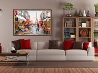 Картины в интерьере — 85 фото идей красивого оформления