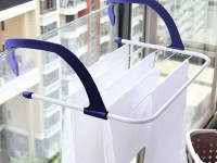 Современные сушилки или бельевые веревки (120 фото): как правильно выбрать систему для сушки белья на балконе