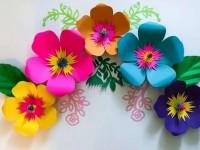 Красивые цветы своими руками к 8 марта