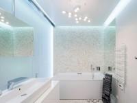 Потолочные светильники для ванной комнаты (80+ фото)