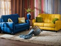 Современные модели диванов в интерьере гостиной (100+ фото)