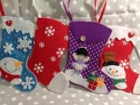 Как сделать новогодние сапожки для подарков своими руками