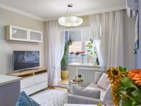 Гостиная в хрущевке: идеи дизайна интерьера, полезные советы по зонированию и увеличению пространства