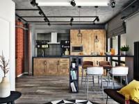 Дизайн кухни-гостиной 30 кв.м в частном доме (100+ фото)