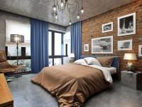 Спальня в стиле лофт: особенности и  примеры дизайна (100+ фото)