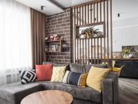 Виды и особенности перегородок для зонирования пространства в комнате