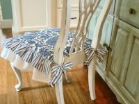 Как сшить чехол на стул из ткани своими руками (60+ фото)