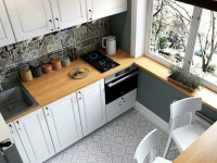 Дизайн интерьера маленькой кухни 6 кв.м с фото-примерами (100+ фото)