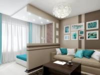 Спальня-гостиная 18 кв. м: красивые и практичные идеи организации (70+ фото)