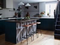 Дизайн интерьера кухни без навесных шкафов (70+ фото)