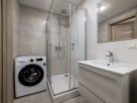 Дизайн ванной комнаты 6 кв.м со стиральной машиной и туалетом