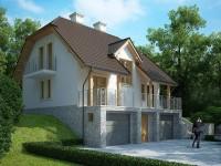 Готовые проекты домов с подвалом